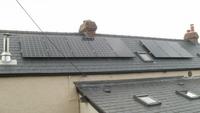 Solar panel installation Denbighshire, North Wales